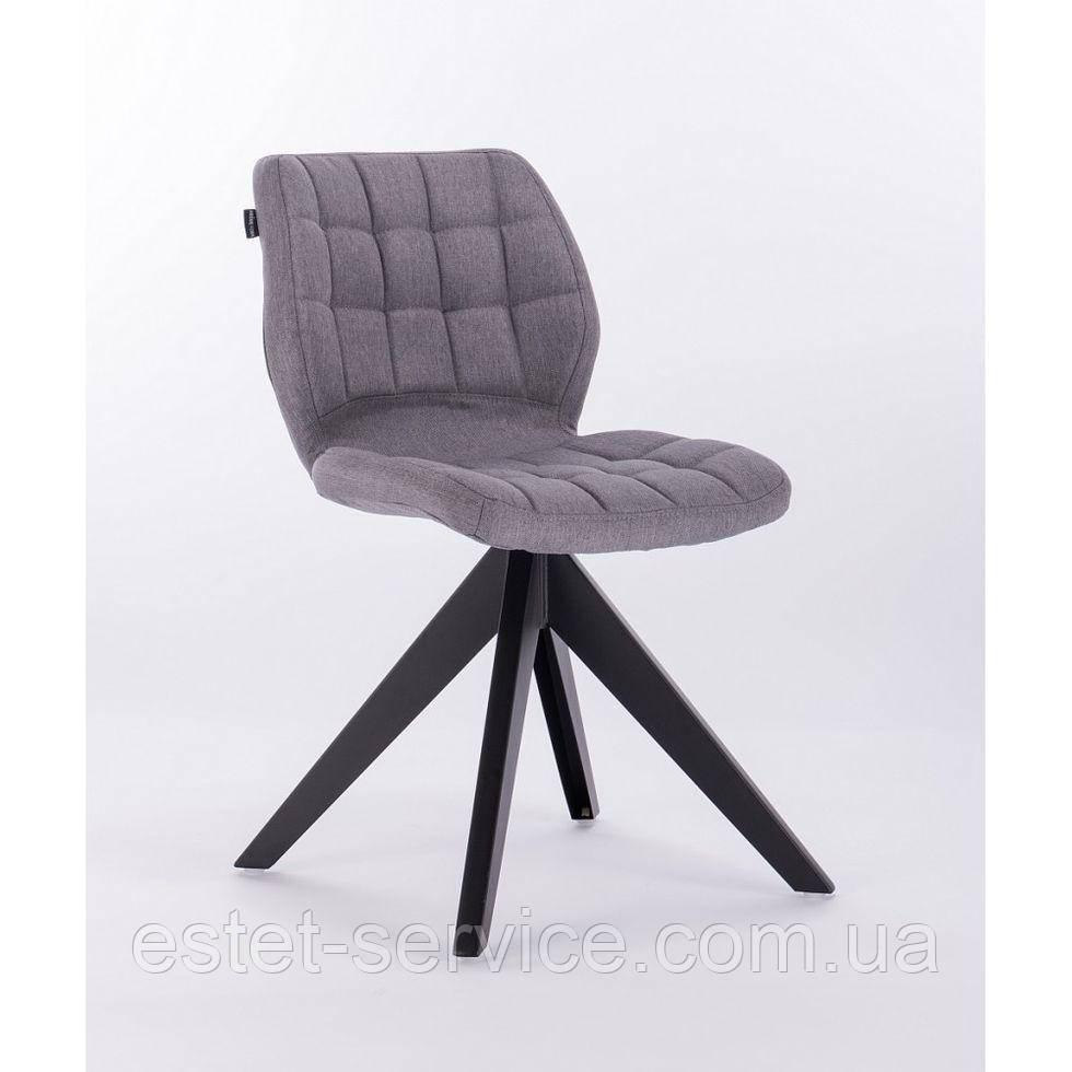 Кресло HROVE FORM HR445 на 4-х ножках, серая ткань
