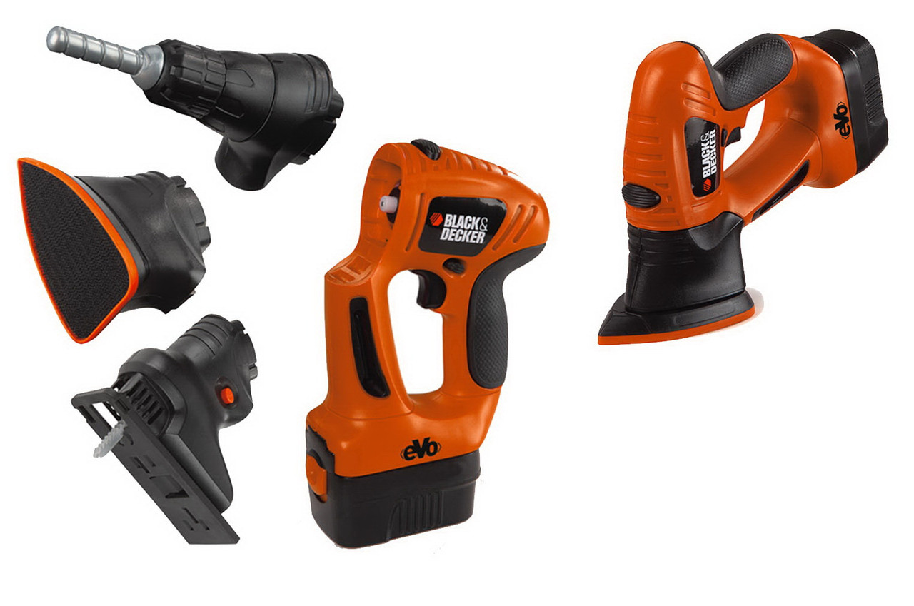 Набор инструментов 3 в 1 Smoby Black & Decker