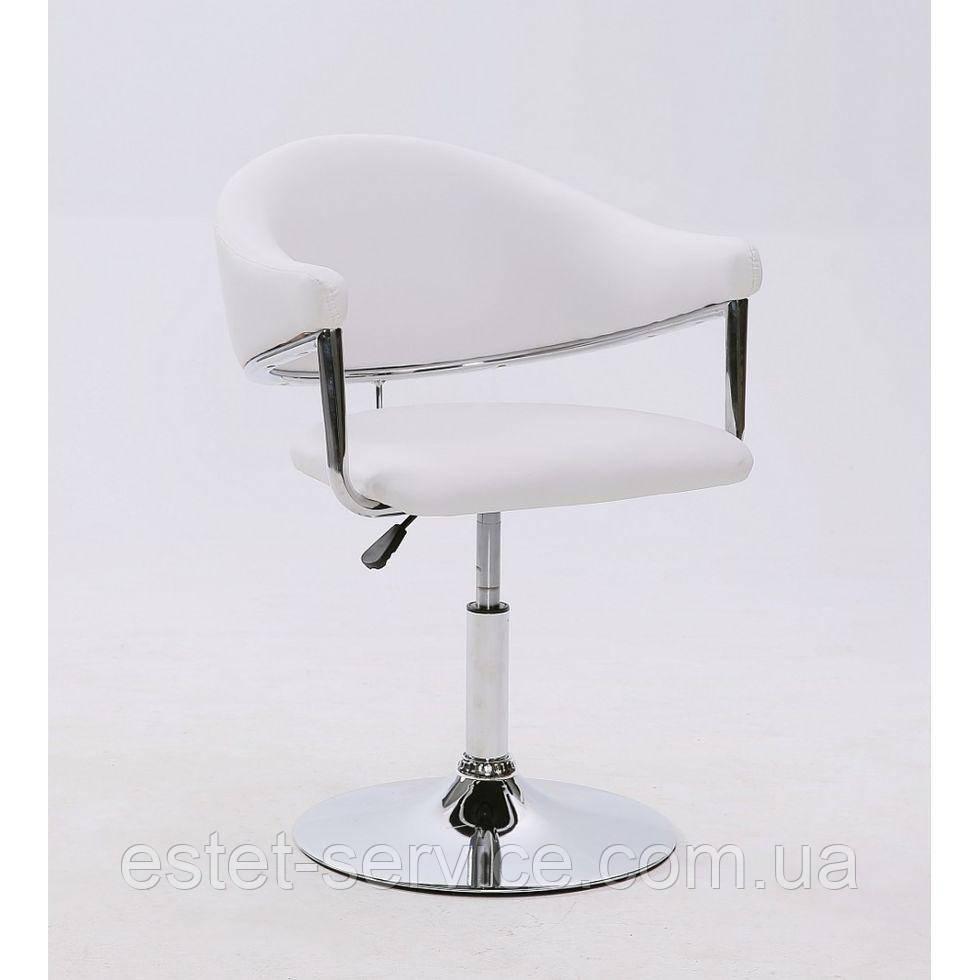 Парикмахерское кресло HC-8056 белое