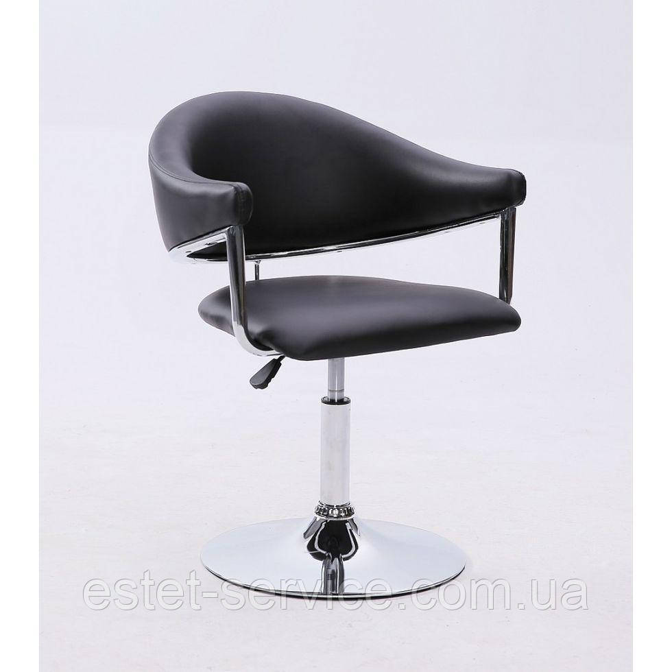 Парикмахерское кресло HC-8056 черное
