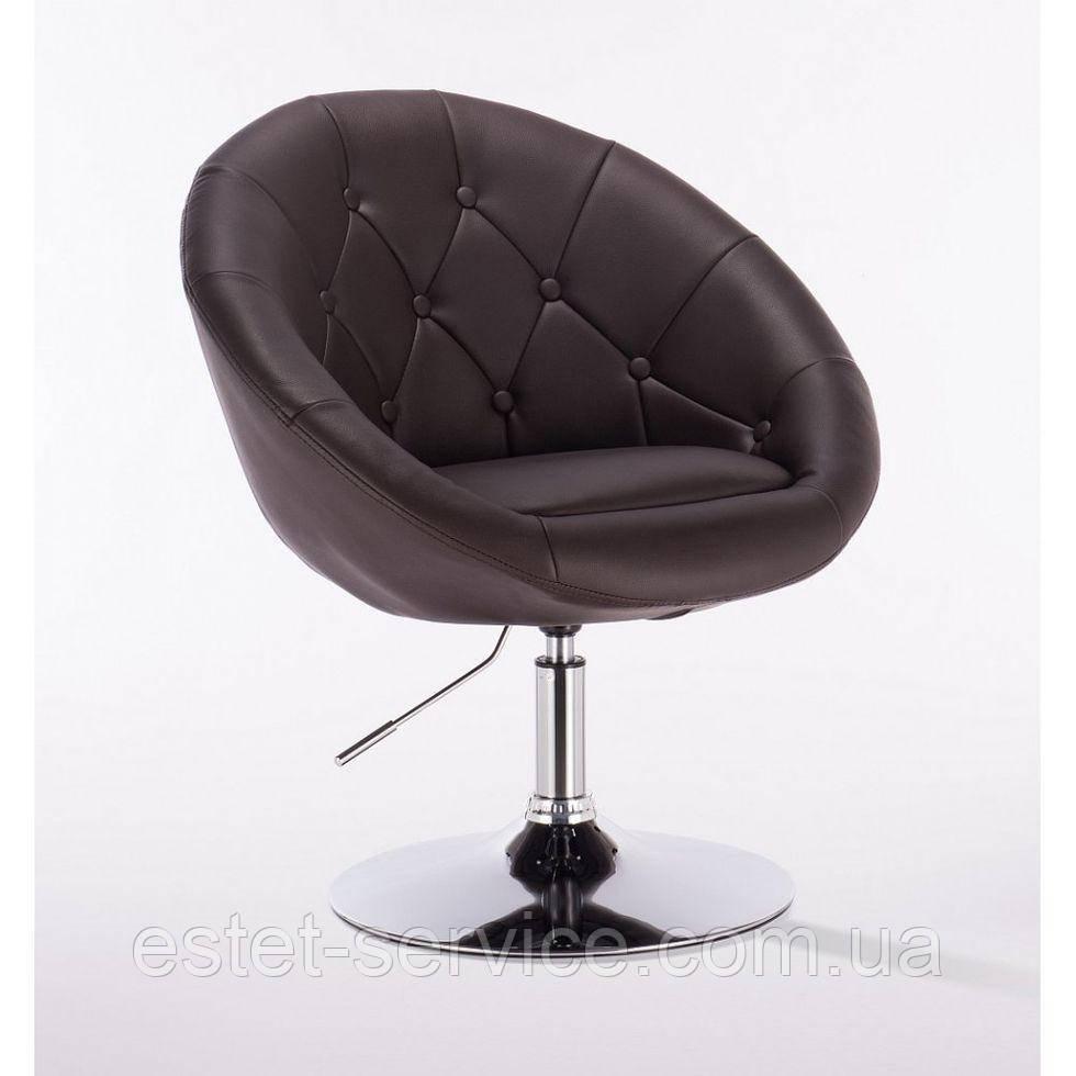 Парикмахерское кресло HC-8516 шоколадное