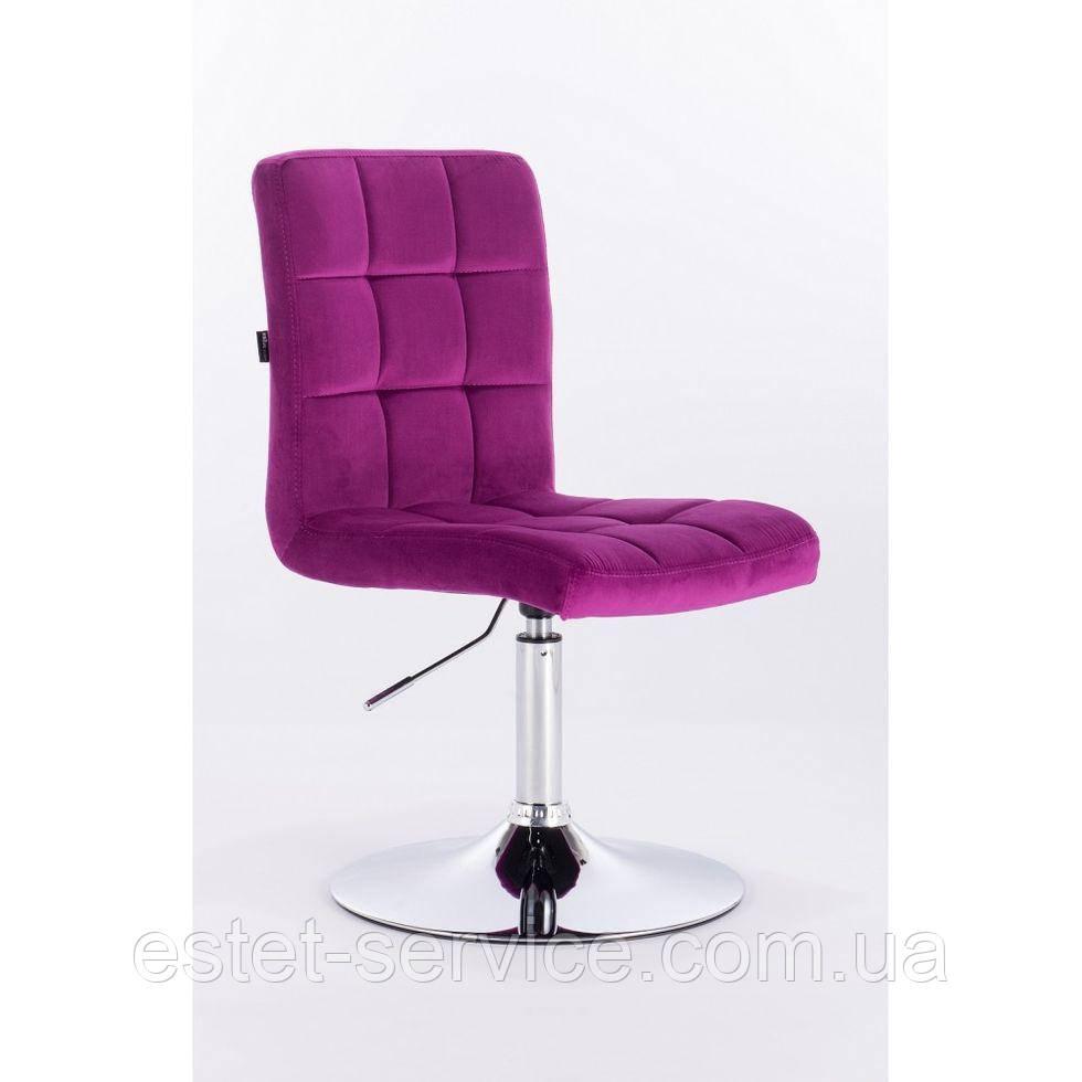 Парикмахерское кресло HROVE FORM HR7009N фуксия
