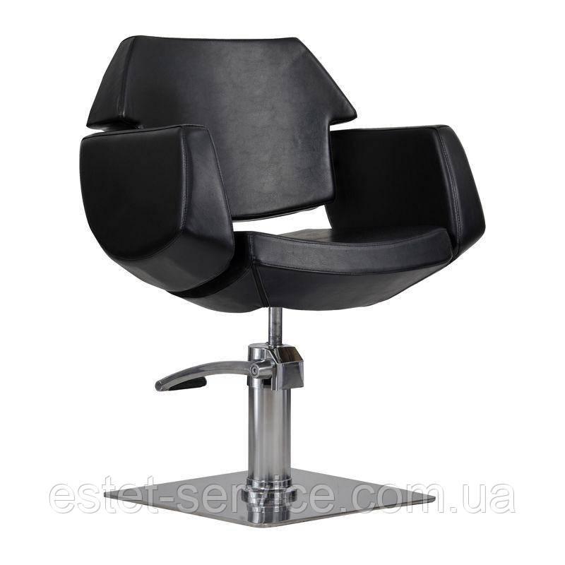 Парикмахерское кресло Imperia черное
