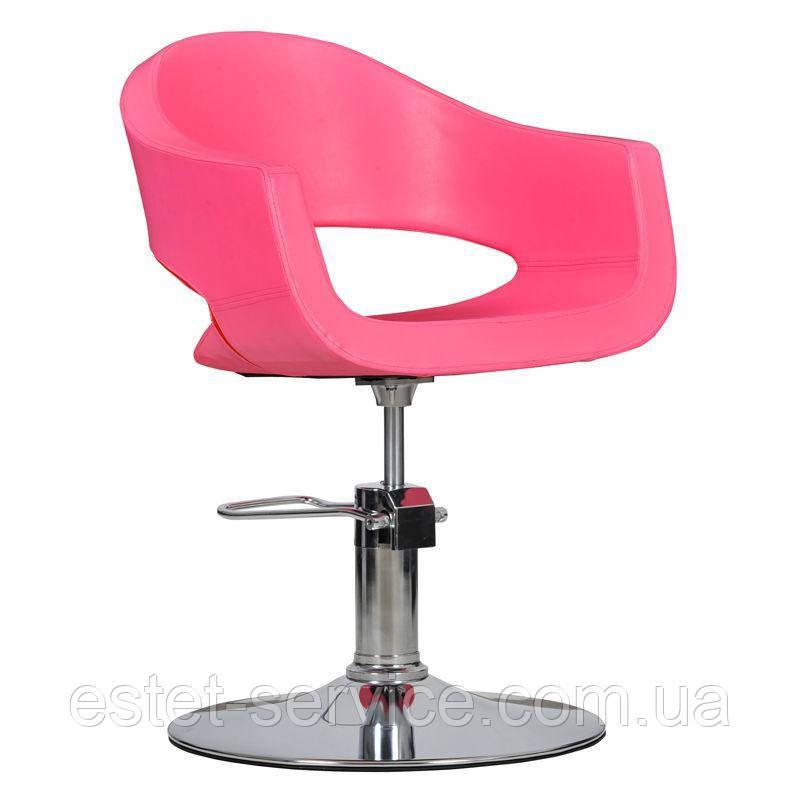 Парикмахерское кресло Prato розовое