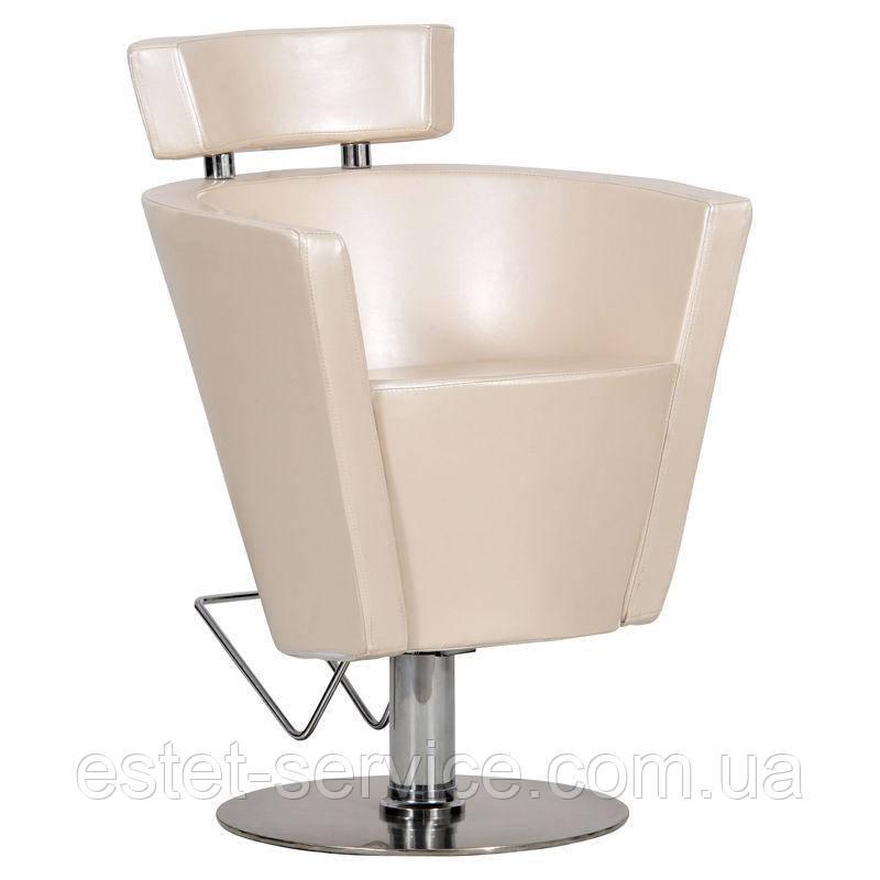 Парикмахерское кресло Prima бежевое