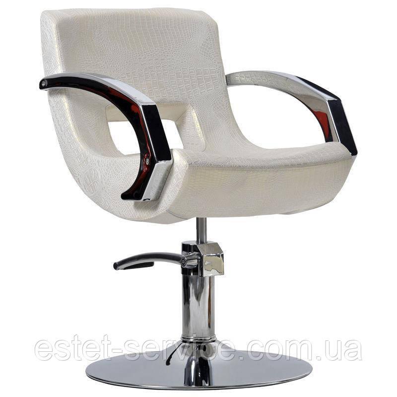 Перукарське крісло Roma кремовий