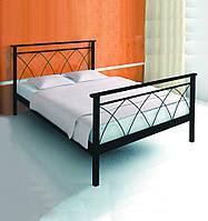 Кровать металлическая  Диана - 1 / Diana - 1 двухспальная 180 (Метакам) 1850х2080х940 мм
