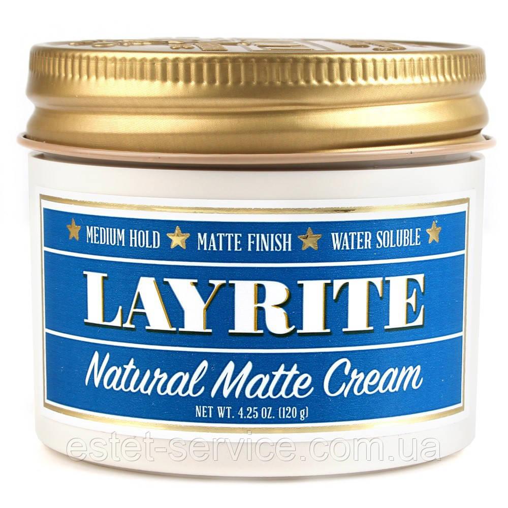Помада для волос Layrite Natural Matte Cream, 120 мл