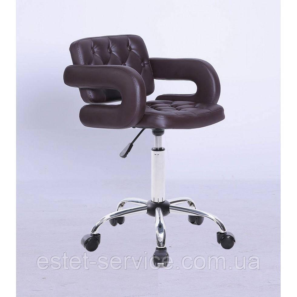 Косметическое кресло HC8403K коричневое