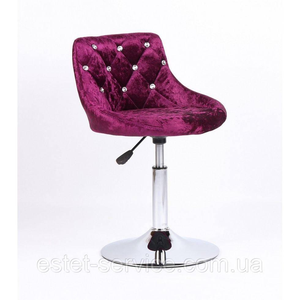 Косметическое кресло HC931N фиолетовый велюр