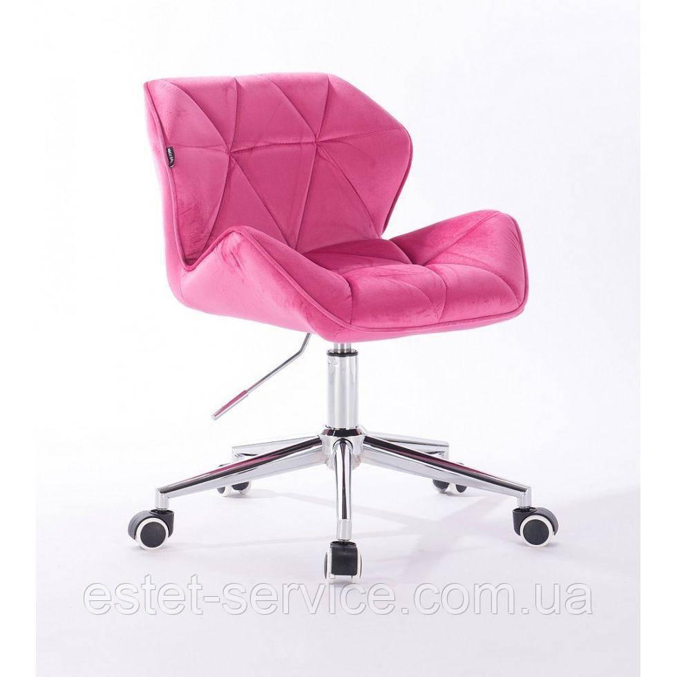 Косметическое кресло HR111K малиновый велюр