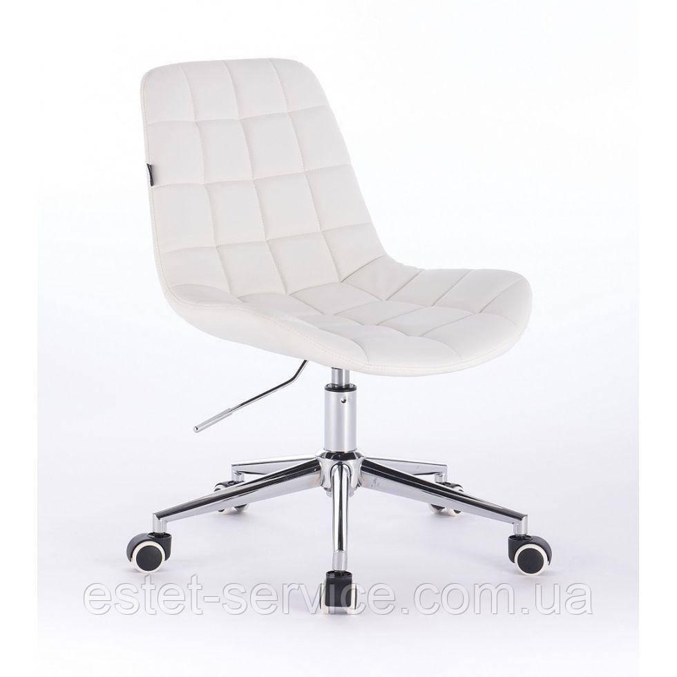 Косметическое кресло HR590K  белое