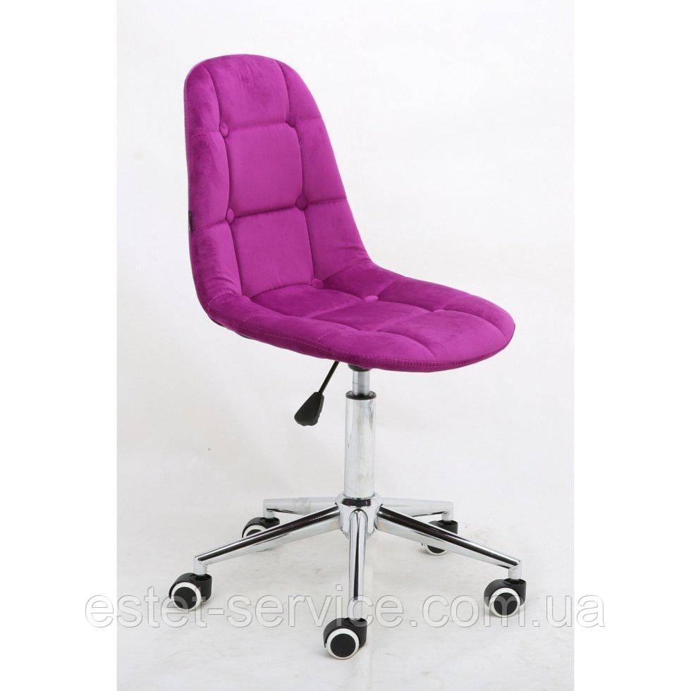 Косметическое кресло HR1801K фуксия велюр