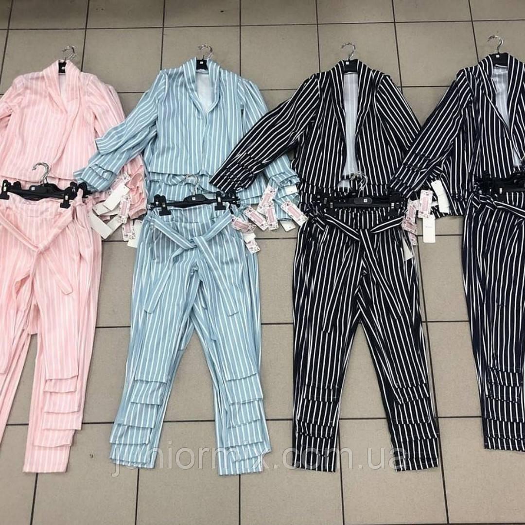 Детские стильные костюмы для девочек оптом  ITALY