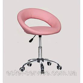 Косметическое кресло HC104KC на колесах в ЦВЕТАХ кожзама
