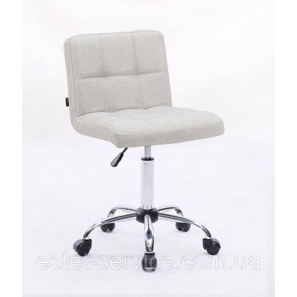 Косметическое кресло HC8052K светло-серое ткань