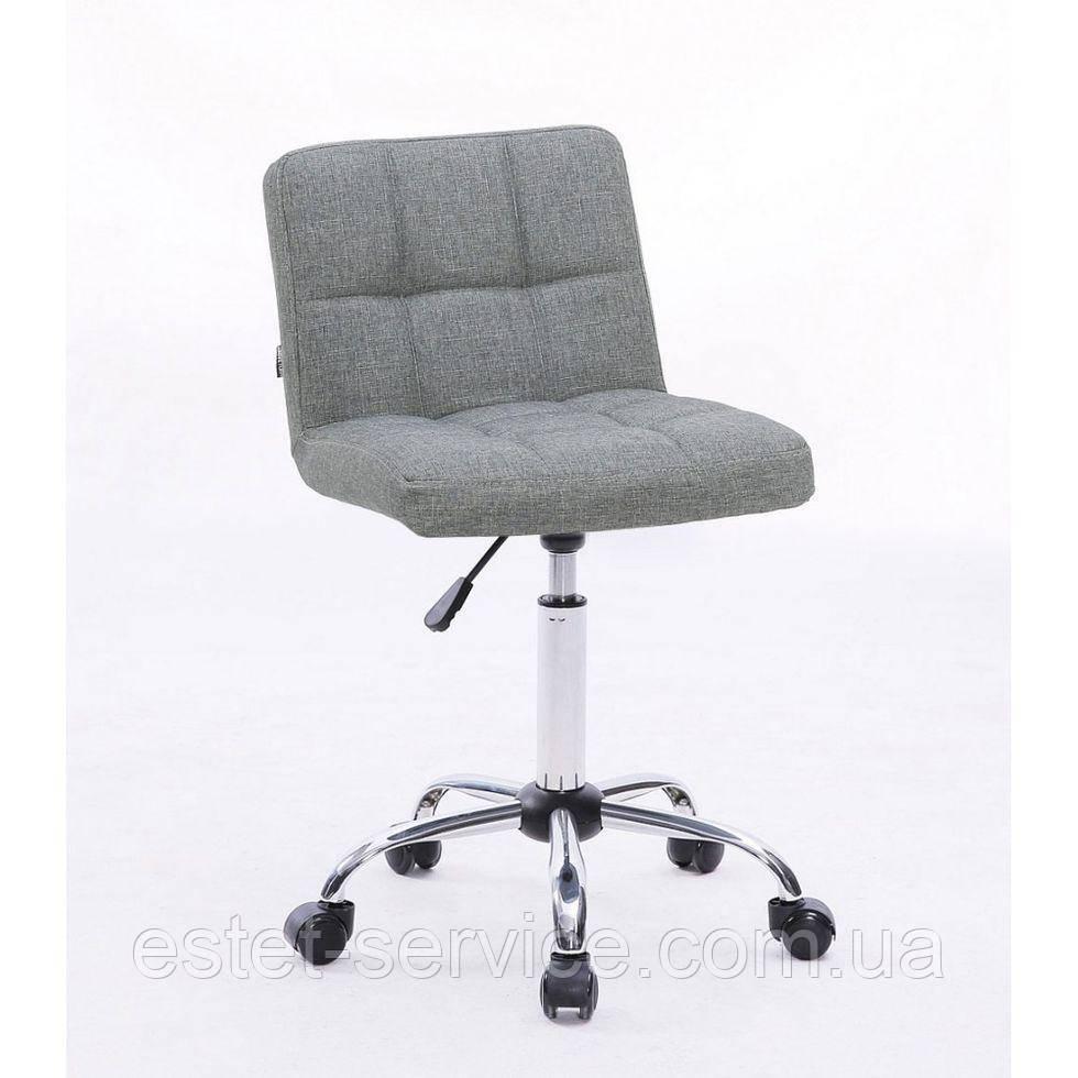 Косметическое кресло HC8052K серое ткань