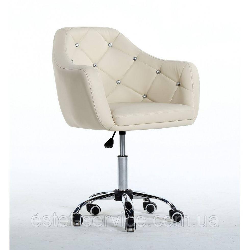 Косметическое кресло HC830K  кремовое