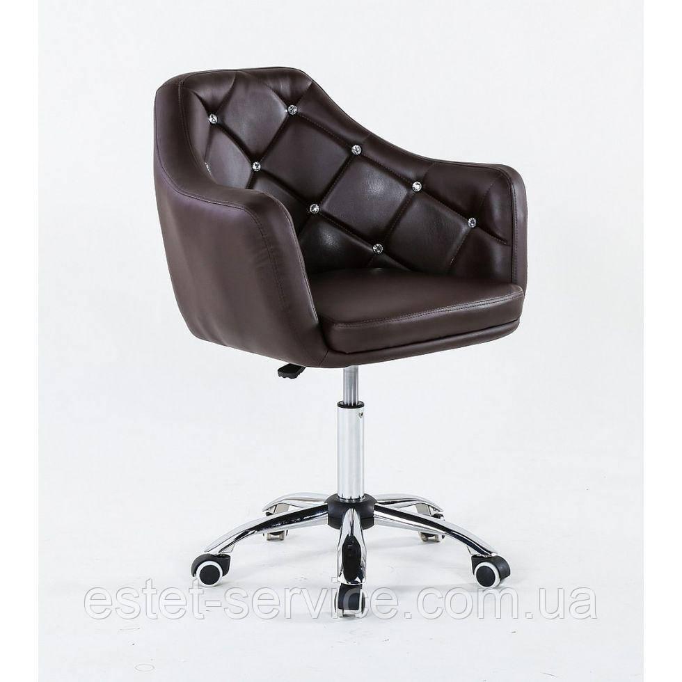 Косметическое кресло HC830K  шоколадное