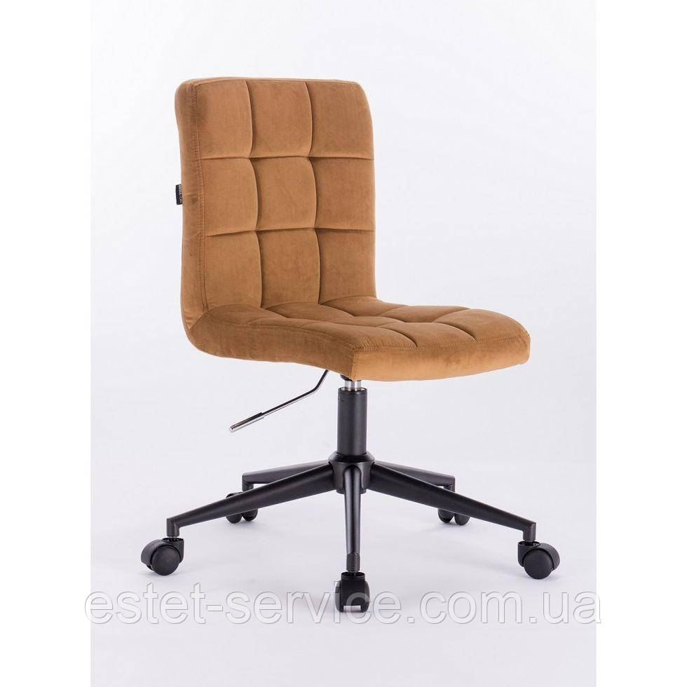 Косметическое кресло HROOVE FORM HR7009K медовое