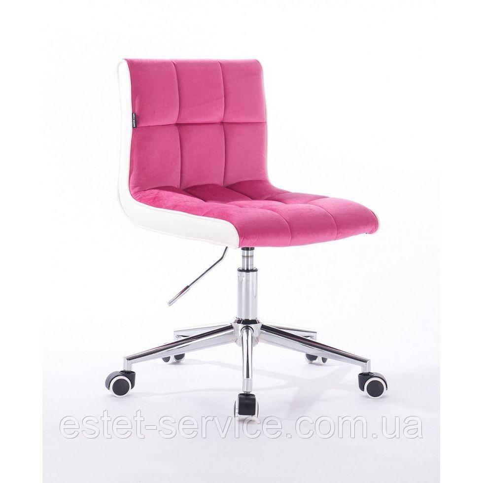 Косметическое кресло HROOVE FORM HR810K малиновый велюр