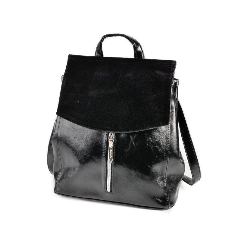 60c735655f1d Замшевый рюкзак сумка-трансформер через плечо М159-33/замш - Интернет  магазин сумок