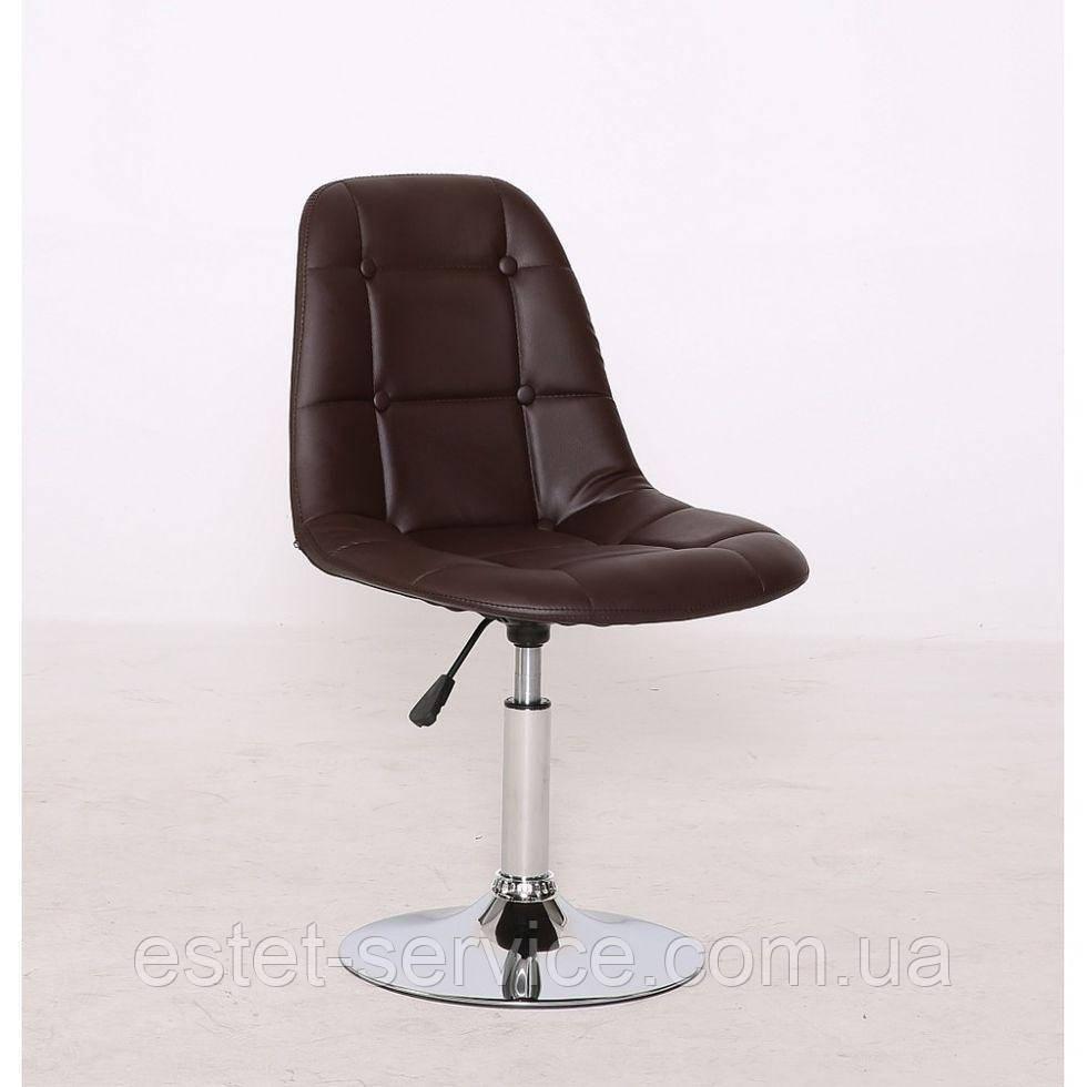 Кресло косметическое HC-1801N коричневое