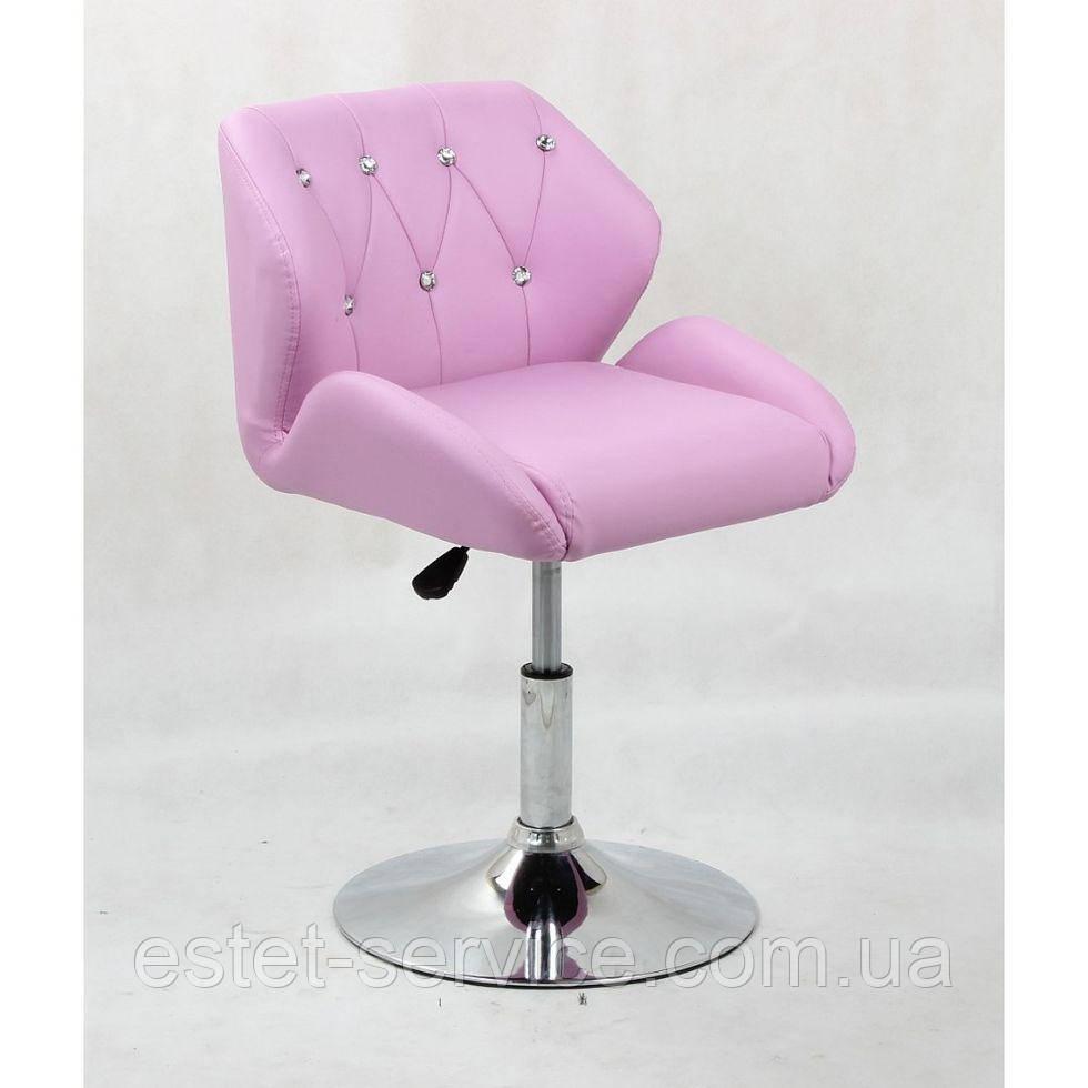 Кресло косметическое HC949N лавандовое