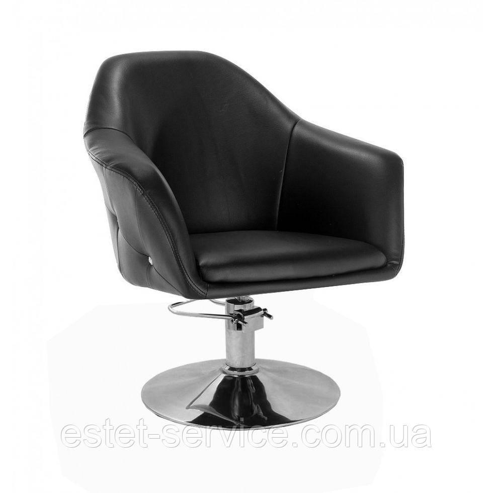 Кресло парикмахерское HC547H черное