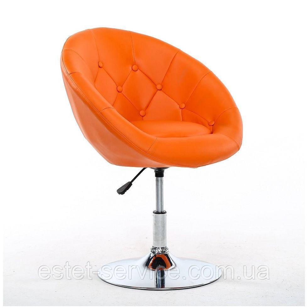 Парикмахерское кресло HC-8516 оранжевое