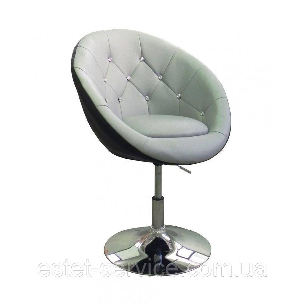 Парикмахерское кресло HC-8516 серо-черное