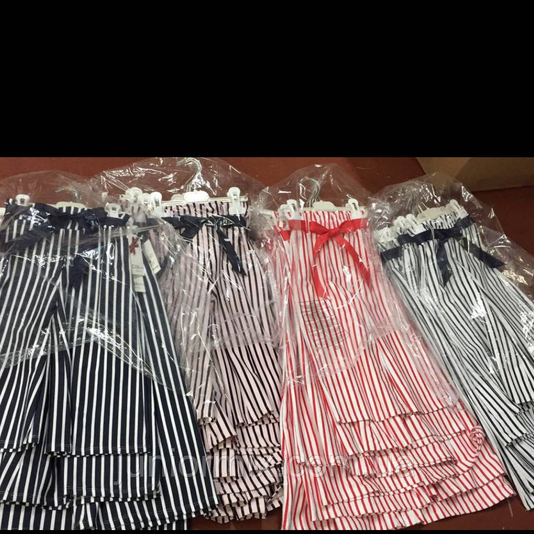 Детские модные кюлоты для девочек оптом  ITALY
