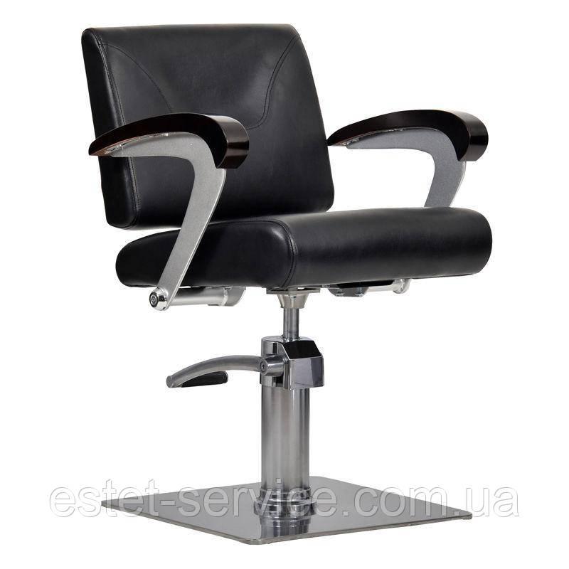Парикмахерское кресло Kubik черное