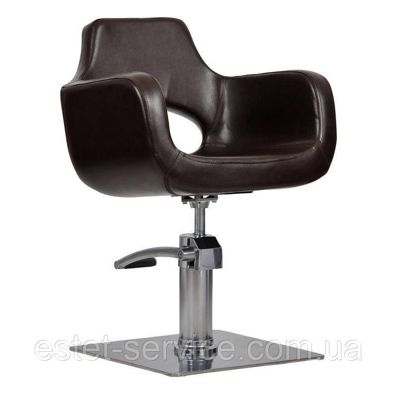 Парикмахерское кресло Mediolan коричневое