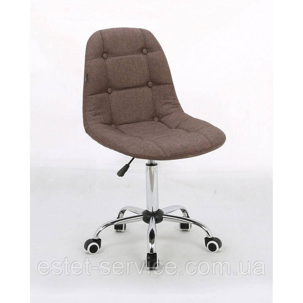 Косметическое кресло HC-1801K мокко хром