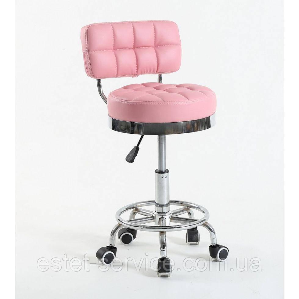 Косметическое кресло HC636 на колесах в ЦВЕТАХ кожзам