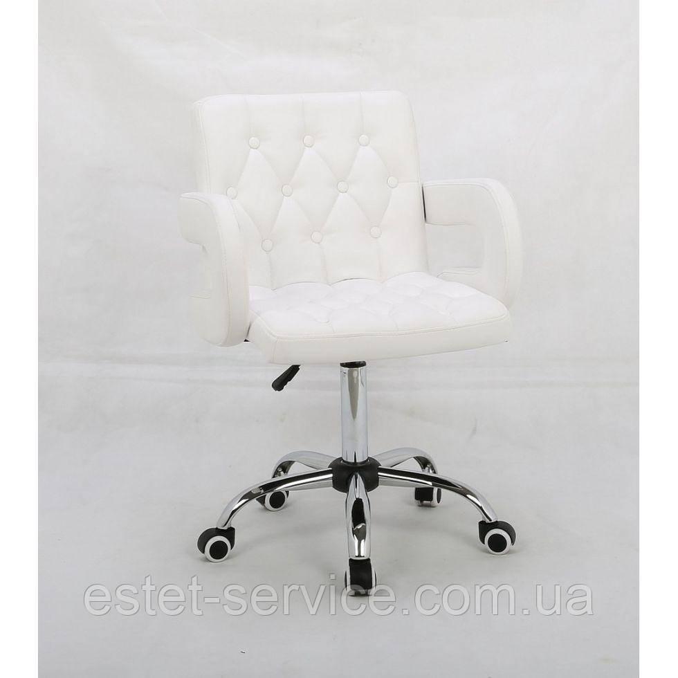 Косметическое кресло HROOVE FORM HR8404K белое