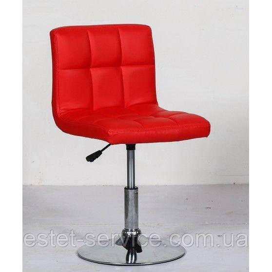 Кресло для косметолога HC8052N на низкой барной основе в ЦВЕТАХ кожзам