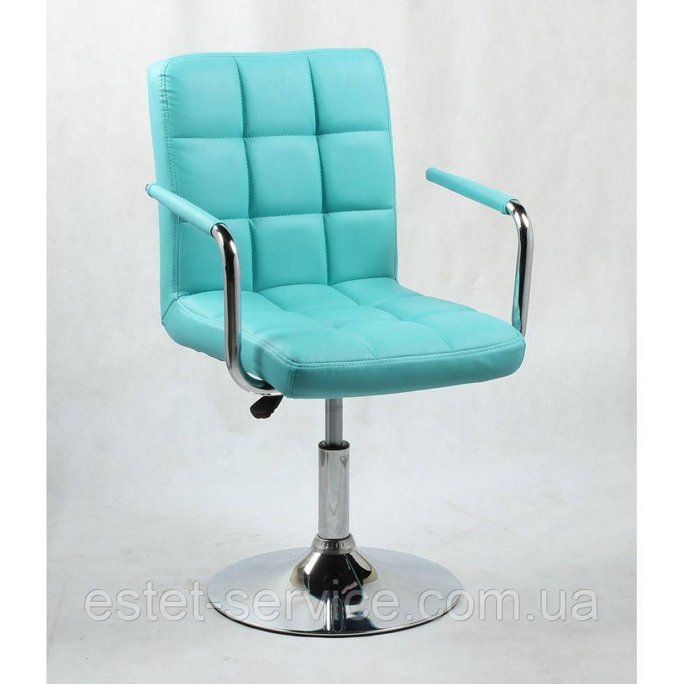 Кресло косметическое HC1015NP бирюзовое