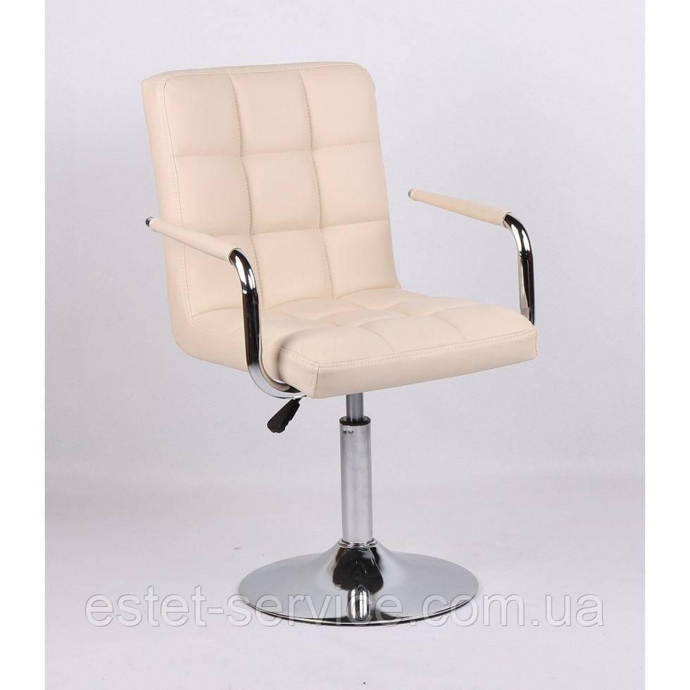 Кресло косметическое HC1015NP кремовое