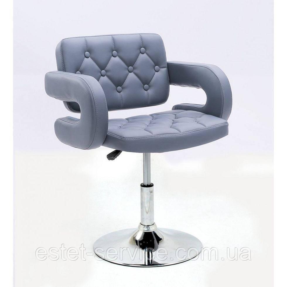 Кресло косметическое HC8403N на низкой барной основе в ЦВЕТАХ кожзам