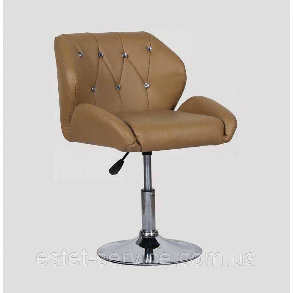 Кресло косметическое HC949N карамель