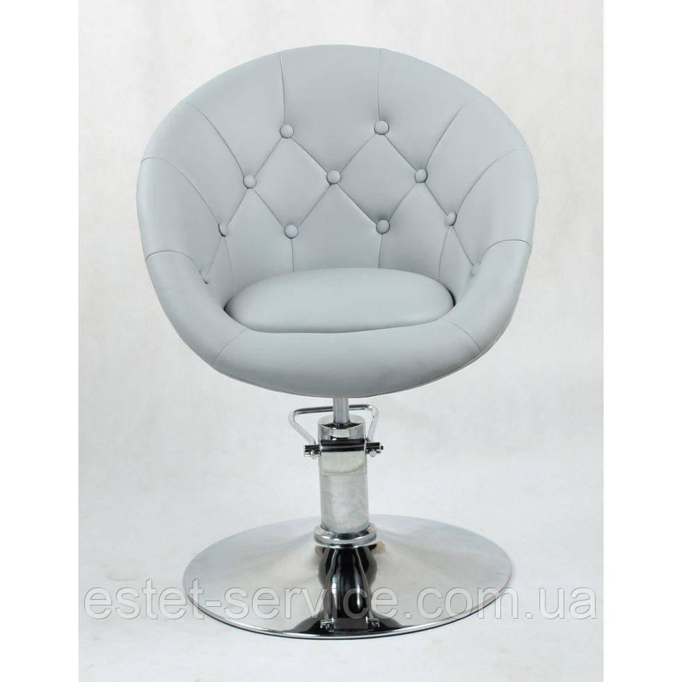 Кресло парикмахерское HC-8516H серое