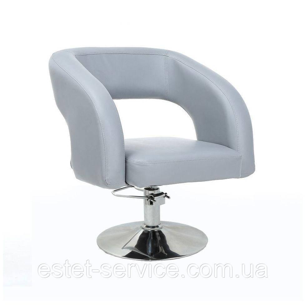 Кресло парикмахерское HC801H серое