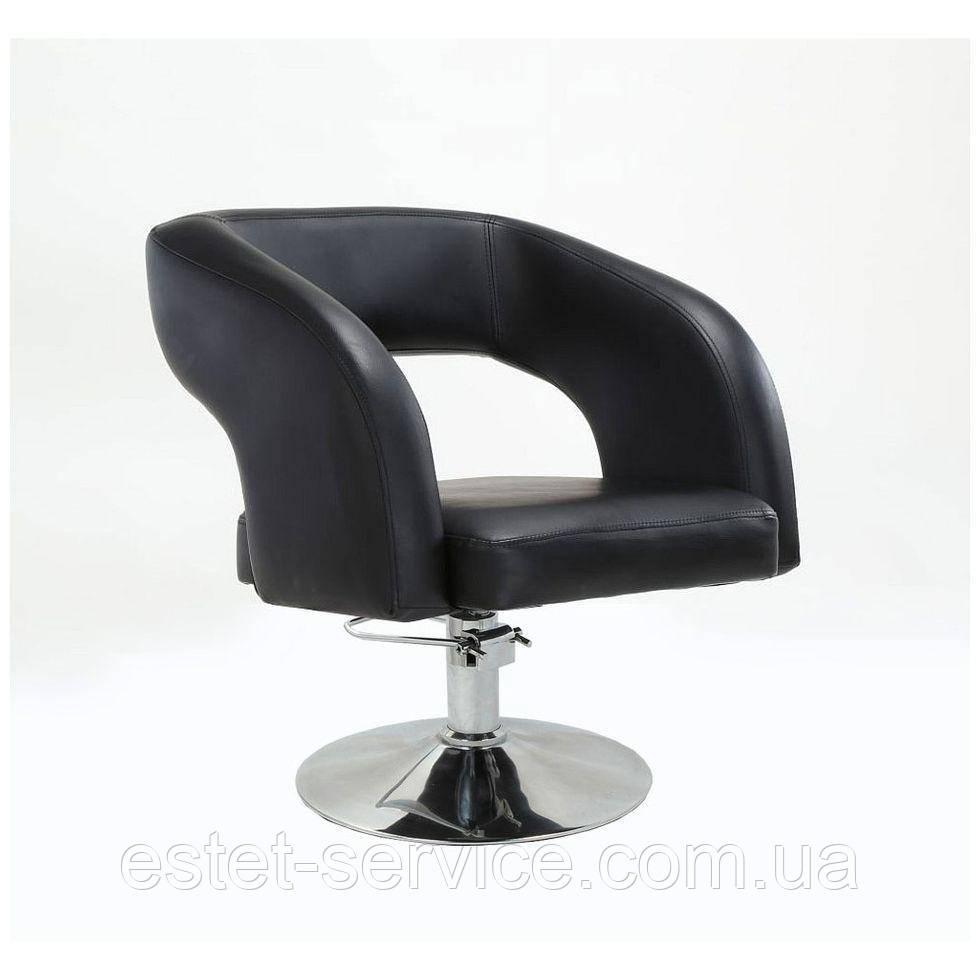 Кресло парикмахерское HC801H черное