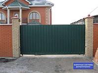 Раздвижные, сдвижные, откатные ворота Днепропетровск