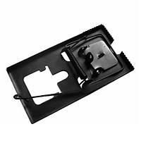 Механическая ловушка для грызунов металлическая 118 х 63 мм (мышеловка)