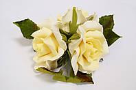 """Букет """"Розы жёлтые"""" d160 3шт. (код 03898)"""