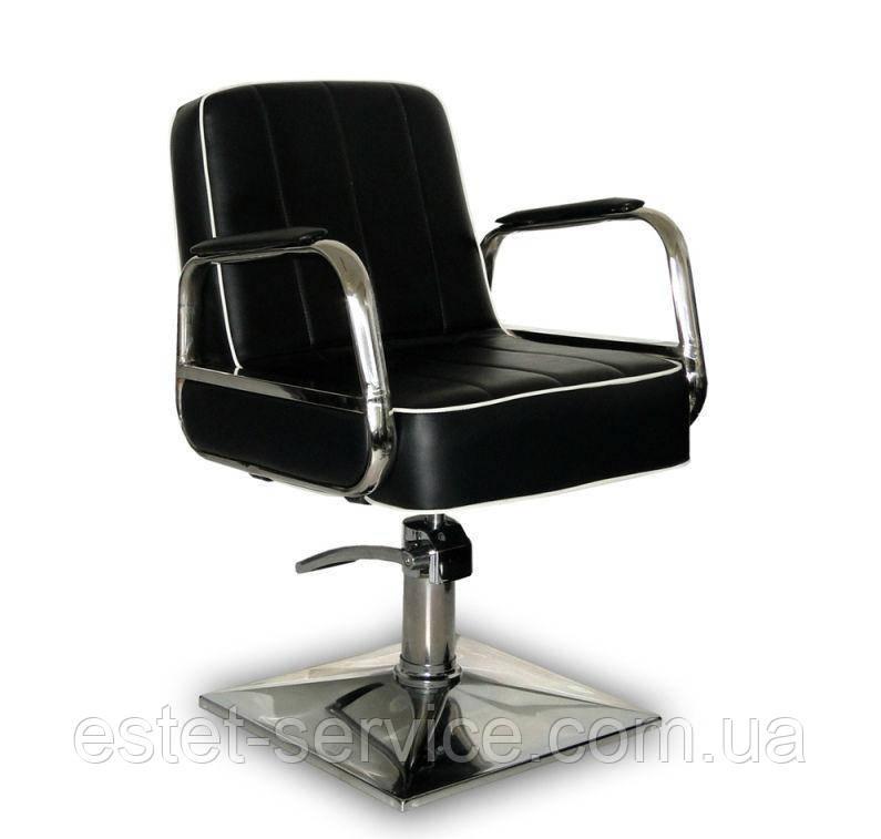 Парикмахерское кресло Cuba черное