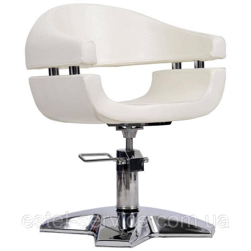 Парикмахерское кресло Gamma бежевое